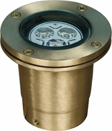 Dabmar LV-LED25-WBS Contemporary Weathered Brass LED Exterior In-Ground In-Ground Well Lighting