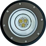 Dabmar LV-LED306-BZ-MR Contemporary Bronze LED Outdoor In-Ground Well Light with PVC Sleeve