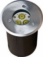 Dabmar LV-LED311 Contemporary Stainless Steel LED Exterior In-Ground Well Lighting