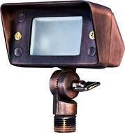 Dabmar LV116-ABZ Modern Antique Bronze Halogen Exterior Secure Home Lighting