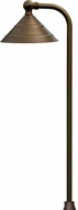 Dabmar LV37-WBS Weathered Brass Exterior Pathway Lighting