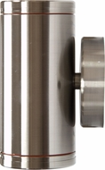 Dabmar LV65-SS Contemporary Stainless Steel Halogen Exterior Surface Mount Wall Lighting