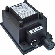 Dabmar LVT100-A Black Exterior Magnetic 100 Watt Low Voltage Transformer with Power Cord