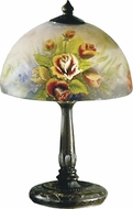 Dale Tiffany 10057-610 Rose Dome Antique Bronze Table Lighting