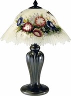 Dale Tiffany 10190-706 Hummingbird Flower Antique Bronze Lighting Table Lamp