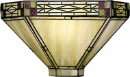 Dale Tiffany 8676-1LTW Dana Tiffany Sconce Lighting