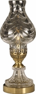 Dale Tiffany GA10230 Swift Light Antique Brass Table Lamp Lighting