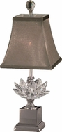 Dale Tiffany GA11211 Lucinda Polished Nickel Table Top Lamp