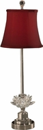 Dale Tiffany GB11259 Susannah Polished Nickel Buffet Table Lamp
