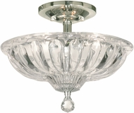 Dale Tiffany GH11231PC Golden Gate Polished Chrome Ceiling Light Fixture