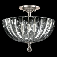 Dale Tiffany GH11233PC Sereno Polished Chrome Flush Lighting