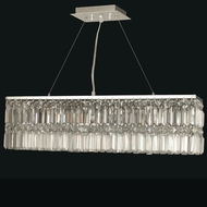 Dale Tiffany GH12113 Canley Polished Chrome Halogen Island Light Fixture