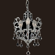Dale Tiffany GH70379 Buchanan Polished Chrome Mini Chandelier Lighting