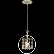 Dale Tiffany GH80345 Cardigan Polished Chrome Mini Ceiling Pendant Light