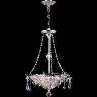Dale Tiffany GH90113 Rowley Polished Chrome Mini Chandelier Lamp