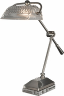 Dale Tiffany GT13256 Devlin Satin Nickel Desk Lamp