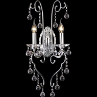Dale Tiffany GW10298 Mansfield Polished Chrome Lighting Sconce