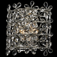 Dale Tiffany GW14127 Aster Polished Chrome Wall Lighting Sconce