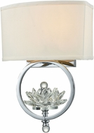 Dale Tiffany GW15313 Noble Polished Chrome Wall Mounted Lamp