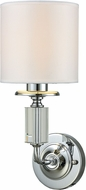 Dale Tiffany GW15322LED Gretel Polished Chrome LED Wall Light Sconce