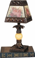 Dale Tiffany TA100711 Hadden Modern Antique Golden Sand Table Lamp Lighting