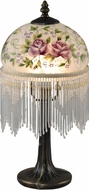 Dale Tiffany TA15006 Rose Antique Brass Accent Light