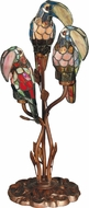 Dale Tiffany TA60179 Three Parrots Modern Antique Bronze Table Lighting