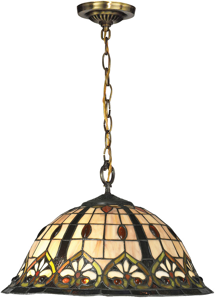 Tiffany Hanging Light Fixtures Tiffany TH14249 Reservoir Tiffany Tiffany Bronze Hanging Light Fixture