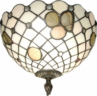Dale Tiffany TH70107 Newport Tiffany Overhead Lighting Fixture