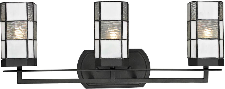 Awesome Kichler Lighting Meredith 5 Light Bath Vanity In Distressed Black