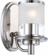Designers Fountain 6691-CH Essence Modern Chrome Wall Sconce Lighting