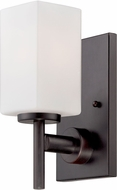 Designers Fountain 6731-BBR Dakota Biscayne Bronze Wall Sconce Light