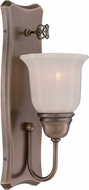 Designers Fountain 68001-OSB Astor Old Satin Brass Light Sconce