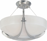 Designers Fountain 83011-SP Avanti Contemporary Satin Platinum Ceiling Lighting Fixture