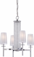 Designers Fountain 83984-CH Candence Chrome Mini Ceiling Chandelier
