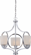 Designers Fountain 84083-CH Mirage Contemporary Chrome Mini Chandelier Light