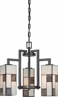 Designers Fountain 84183-CHA Bradley Modern Charcoal Mini Chandelier Lamp