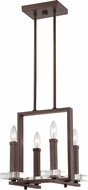 Designers Fountain 84384-FBZ Fieldhouse Contemporary Flemish Bronze Mini Chandelier Lighting