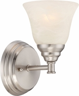 Designers Fountain 85101-SP Kendall Satin Platinum Wall Mounted Lamp