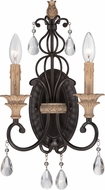 Designers Fountain 85302-DA Bella Maison Distressed Ash Wall Light Sconce