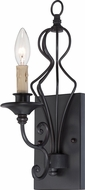 Designers Fountain 85501-NI Tangier Natural Iron Wall Sconce