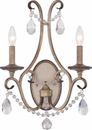 Designers Fountain 86002-ARS Gala Argent Silver Lighting Sconce
