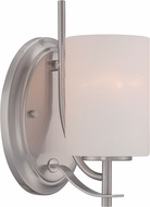 Designers Fountain 86901-SP Cassina Satin Platinum Wall Light Sconce