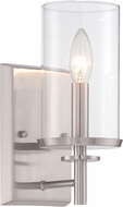 Designers Fountain 87201-SP Harlowe Satin Platinum Wall Sconce