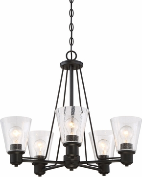 Designers Fountain 88085 ORB Printers Row Oil Rubbed Bronze Chandelier Lamp