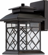 Designers Fountain LED22321-ORB Woodmere Oil Rubbed Bronze LED Outdoor 7 Wall Lamp