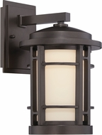 Designers Fountain LED22431-BNB Barrister Burnished Bronze LED Outdoor 9 Light Sconce