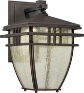 Designers Fountain LED30821-ABP Drake Aged Bronze Patina LED Outdoor Wall Lighting Sconce