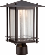 Designers Fountain LED32536-BNB Hadley Burnished Bronze LED Outdoor Post Light