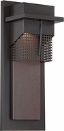 Designers Fountain LED32621-BNB Beacon Modern Burnished Bronze LED Outdoor 7  Wall Lighting